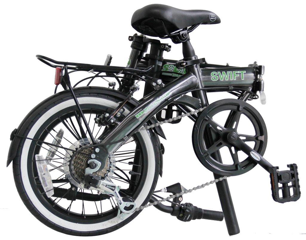 Swift Solorock 16 7 Speed Upgraded Steel Folding Bike