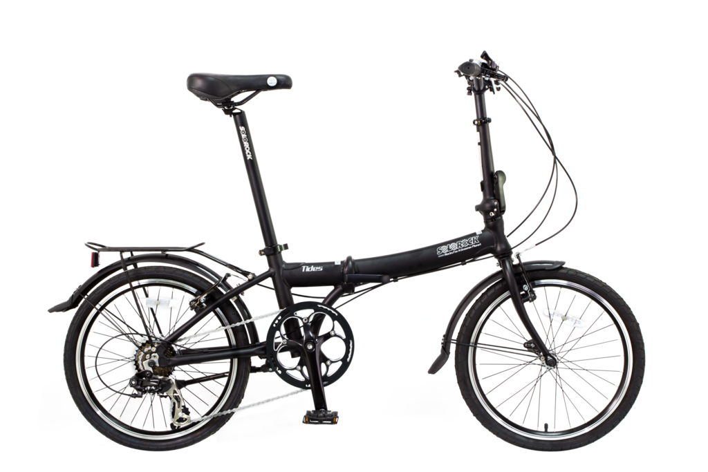 Tides Solorock 20 7 Speed Aluminum Folding Bike Solorock