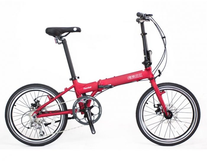 Hunter Pro Solorock 20 10 Speed Aluminum Folding Bike
